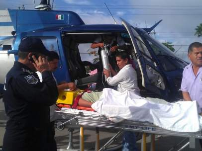Accidente en San Luis Potosí
