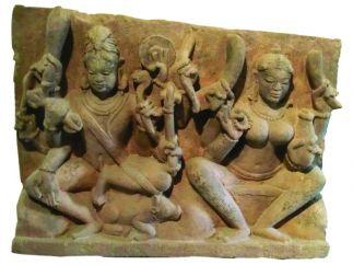 ´Shiva et Parvati´. Inde centrale. XIe siècle