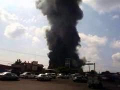 Incendio en Michoacán