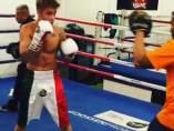 Justin Bieber entrena box