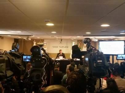 Conferencia de prensa en la CNDH sobre el Caso Tlatlaya