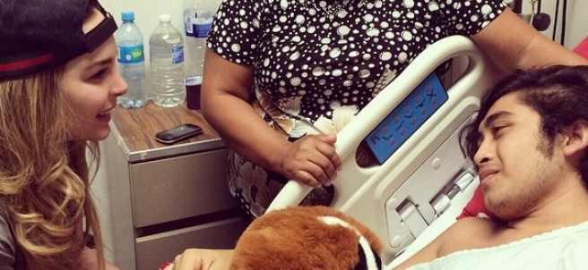 Belida visita un hospital