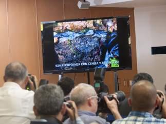 Rueda de prensa sobre los normalistas desaparecidos