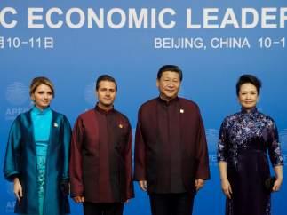 Peña Nieto en China