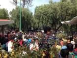 Manifestación contra el Rector José Narro