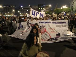Manifestación del 20 de noviembre en la Ciudad de México