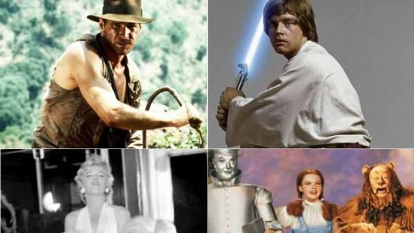 023fddb6f4566 De la espada de Skywalker al vestido de Marilyn  los objetos subastados más  icónicos del cine