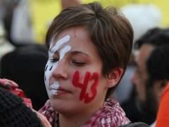 Protesta del 1 de diciemrbe por los desaparecidos