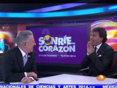 Cristian Castro en entrevista con Joaquín López Dóriga