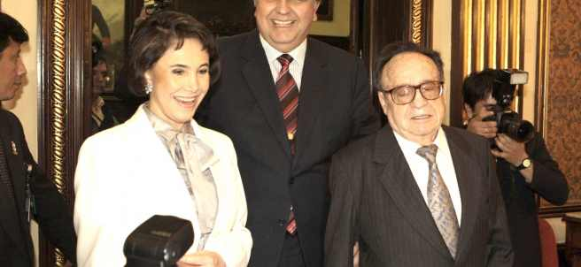 Florinda Meza y Chespirito