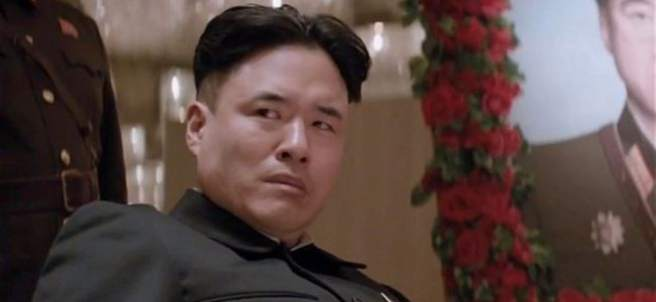 Kim Jong-un en The Interview