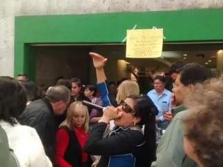 Manifestación por Ficrea