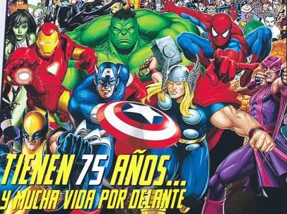 Marvel cumple 75 años