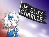 Homenaje de Los Simpson al atentado al Charlie Hebdo