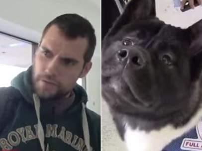 Henry Cavill y su perro