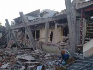 Explosión en Cuajimalpa