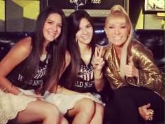 Yuri junto a Lisbeth y Lizeth González