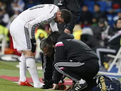 James Rodríguez lesionado