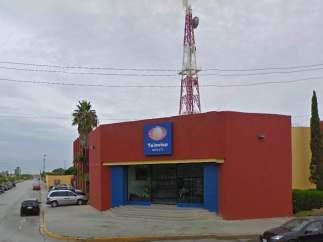 Sede de Televisa en Matamoros