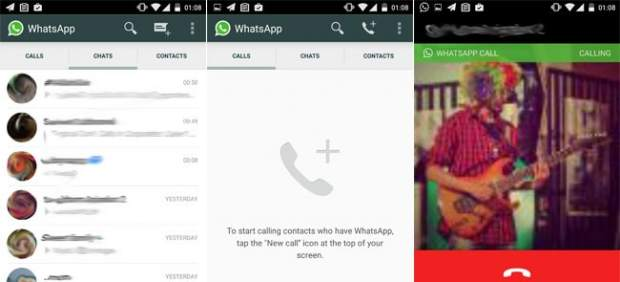 Las llamadas de WhatsApp llegan a Android sin invitación