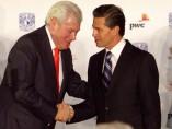 Carlos Hank y el presidente Enrique Peña Nieto