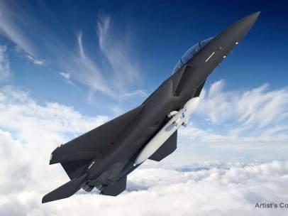 Aviones de combate con satélites acoplados