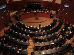Sesión en el Senado
