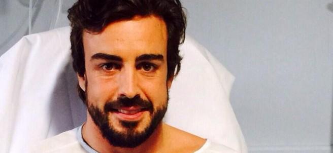 Alonso agradece el apoyo recibido