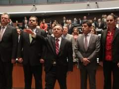 Medina Mora rinde protesta como Ministro