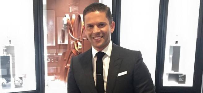 El presentador Rodner Figueroa