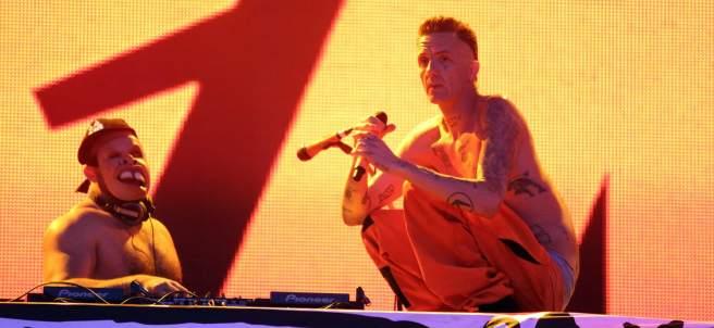 Die Antwoord en Vive Latino.