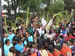 Domingo de Ramos en Iztapalapa