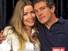 Antonio Banderas y Nicole Kimpel