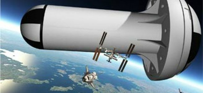 Prototipo de Estación Espacial con gravedad