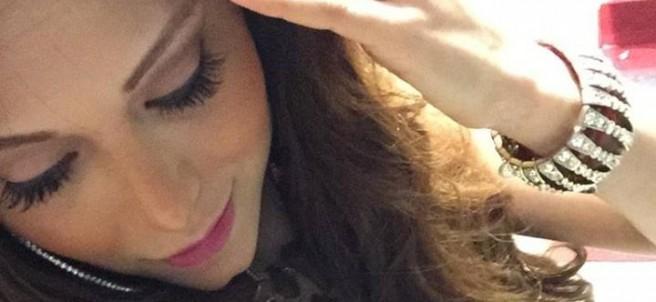 La edecán y conductora de Multimedios Televisión Vivian Cepeda
