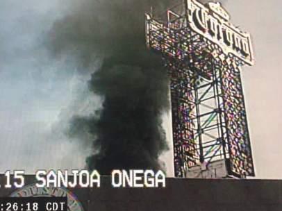 Incendio en las bodegas de Modelo