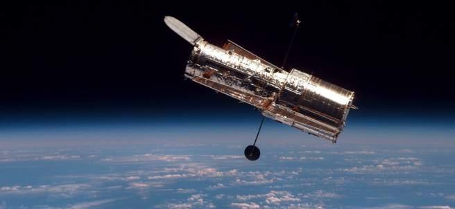 El telescopio espacial Hubble.
