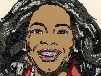 Oprah Winfrey, Mickalene Thomas (born 1971), 2007 - 2008