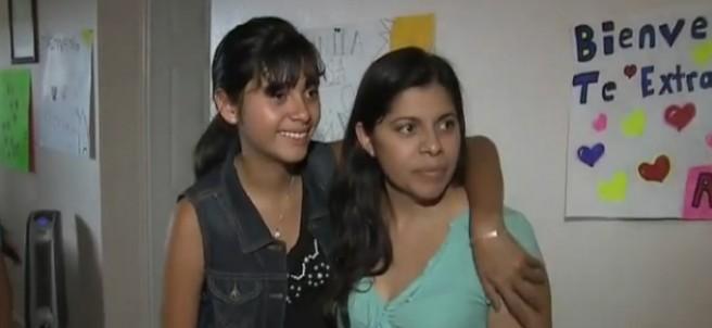 Dorotea García junto a su hija Alondra.