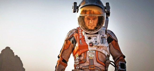 Matt Damon en ´The Martian´