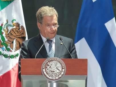 Sauli Niinistö, Presidente de Finlandia