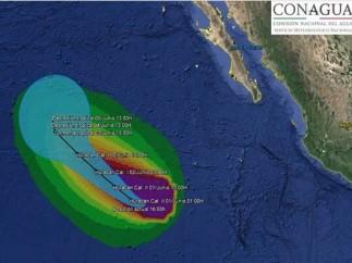 El huracán Andrés