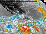 La tormenta tropical Blanca se conviertió a huracán