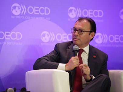 Luis Videgaray en la cumbre anual de la OCDE