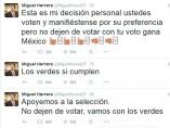 Cuenta de Twitter de El Piojo Herrera
