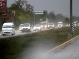 Azotan fuertes lluvias Cancún