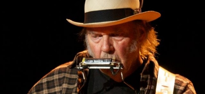 El cantante Neil Young