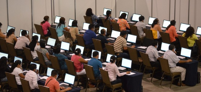 Evaluación de maestros en Guerrero