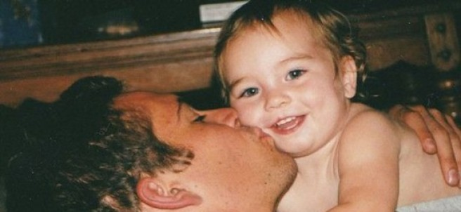 Meadow y su padre Paul Walker
