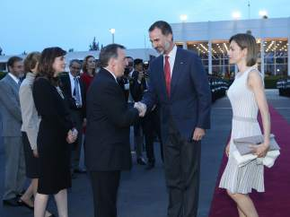 Reyes de España Felipe VI y Letizia.